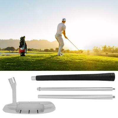 Four-section Foldable Golf Putter Club Right Handed for Golfer Putting Training