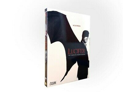 Lucifer New DVD Set, Complete 4th Season, U.S.A. Seller Free, Fast Shipping