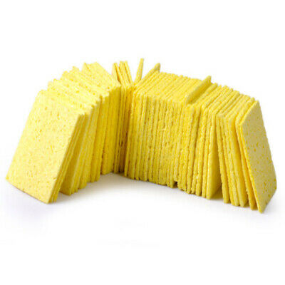 50 Pcs Cleaning Sponge For High Temperature Resistant Soldering Iron Solder Tip