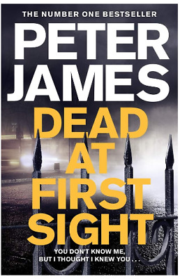 Dead at First Sight Roy Grace by Peter James Police Procedure Thriller Mystery