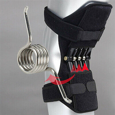 1Pcs OR 1Pair Patella Booster Spring Knee Support Brace for Mountaineering Squat