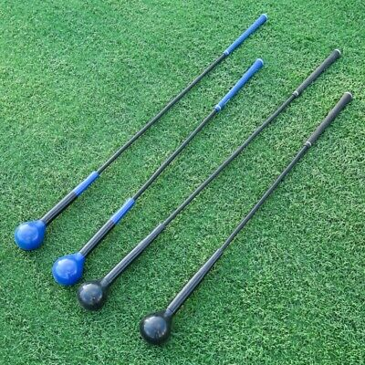 40inch Golf Swing Trainer Practice Club Strength Tempo Flex Training Aid Indoor
