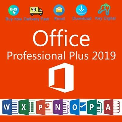 Office 2019 Pro Plus 32/64 Bit Dowload License Genuine For 1 PC Activation