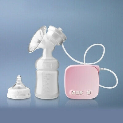 New Electric Hand Free Double Breast Pump Automatic Intelligent Baby Feeder USB