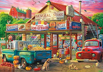 500 Piece Collection Country Store Jigsaw Puzzle Premium Quality Materials