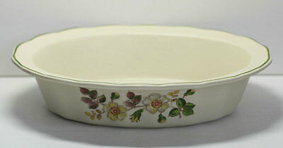Marks & Spencer Autumn Leaves Pie Dish/veg dish mint un-used condition