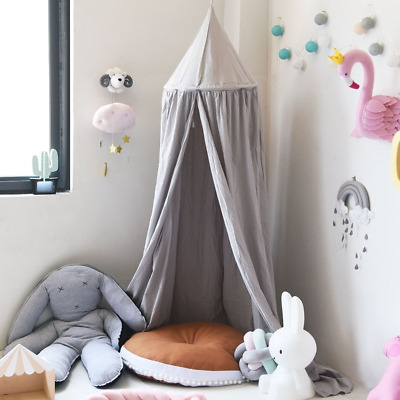 SevenD Princess Bed Canopy for Children, Cotton Mosquito Net Bed Canopies Kids