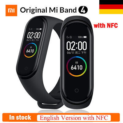 Original Xiaomi Mi Band 4 Smart Bracelet BT 5.0 Fitness Tracker Mit NFC Version