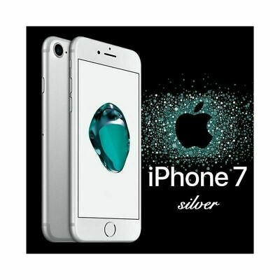 Apple iPhone 7 32GB Argento Silver 12 Months Warranty Nuovo Smartphone IT Top