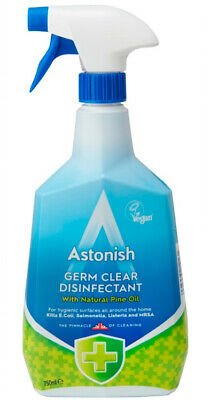 Astonish Germ Clear Disinfectant 750ml With Natural Pine Oil Kills Bacteria