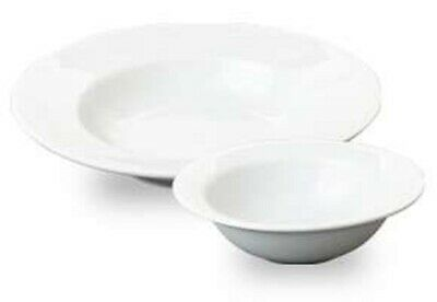 Great White Catering Porcelain Pasta Soup Oatmeal Fruit Bowl Dish Crockery