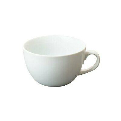 Great White Catering Porcelain Cappuccino Espresso Stacking Coffee Cup Saucers