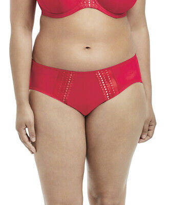 Elomi Matilda Brief In Flame Red  EL8905 M, L, 4XL