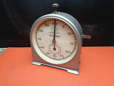 Vintage Johnson 60 second dark room timer made by Smiths LOTPHOETM