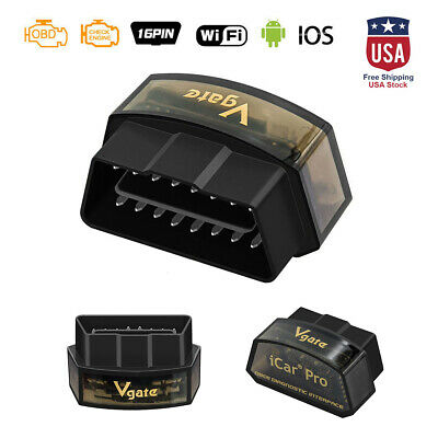 Original Vgate iCar Pro Wifi OBD2 Scanner Diagnostic Adapter BIMMERCODE Reader