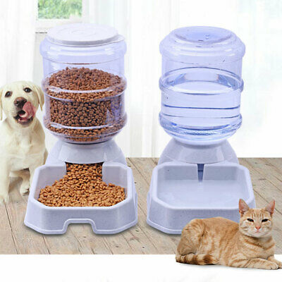 3.8L Pet Water Fountain For Cat Dog Auto Waterer Dish Bowl Feeder Dispenser