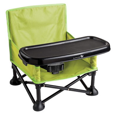 Baby Camping Chair Feeder Outdoors Portable Folding Infant Seat Booster Tray New