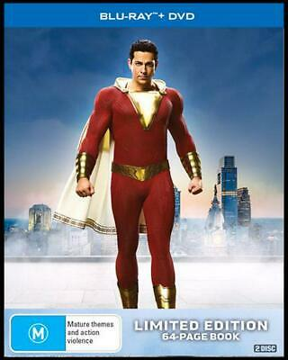 Shazam! : Limited Edition | Blu-ray + DVD - Blu Ray Region B Free Shipping!