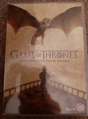 Game Of Thrones Season Five DVD The Complete Fifth 5th Series 5 DVDs Region 2