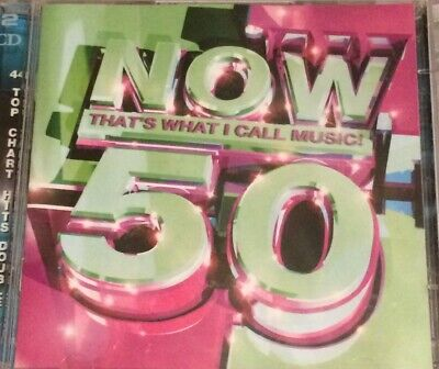 Various Artists - Now That's What I Call Music Vol.50 (2001) 2 Cd Set. Freepost