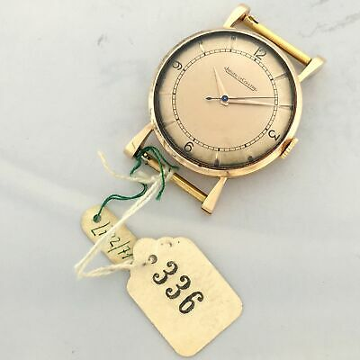 Jaeger Lecoultre 18Kt Rose Gold Art Deco Vintage Genuine Watch New Old Stock