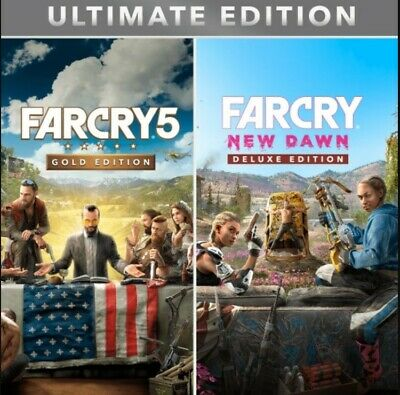 Far Cry 5 GOLD EDITION + Far Cry New Dawn DELUXE Xbox One ⭐ (READ DESCRIPTION) ⭐