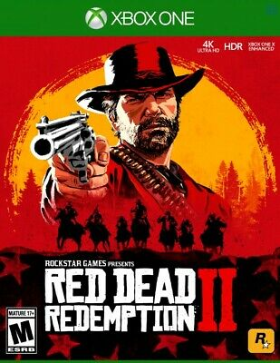 Red Dead Redemption 2 Xbox One ⭐  PLEASE READ FULL DESCRIPTION