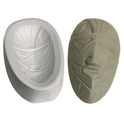 Mayco African Mask Oval Mold  - Oval
