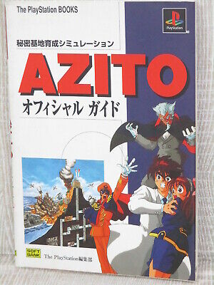 AZITO Official Guide Sony Play Station 1997 Book SB4x