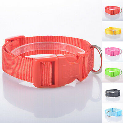 New Nylon Puppy Adjustable Harness Accessory Cat Collars Neck Safety Dog Pet
