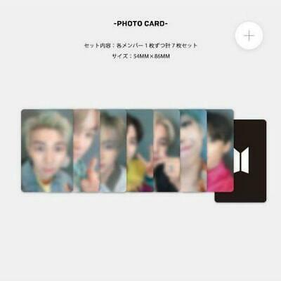 BTS Bangtan Lights/Boy With Luv Official Photocard selfie card japan FC fanclub