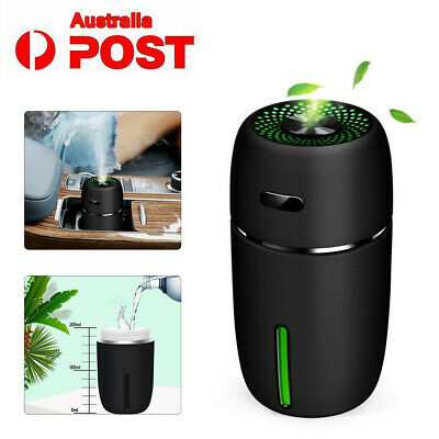 New LED Mini USB Air Humidifier Aroma Diffuser Car Essential Oil Air Purifier AU
