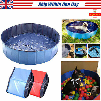 "63"" XX Large Gog Paddling Pool Ball Pool Pet Bath Cooling Pool Cat Kiddie Swim"