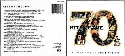 Hits Of The 70's #2 cd- Russell Morris,Flash & The Pan,Jigsaw,Hollies,Kinks +