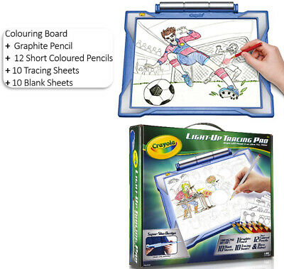 Crayola Light-Up Tracing Pad Light Board, Art Drawing Crafts Boys KID Toys GIFTS