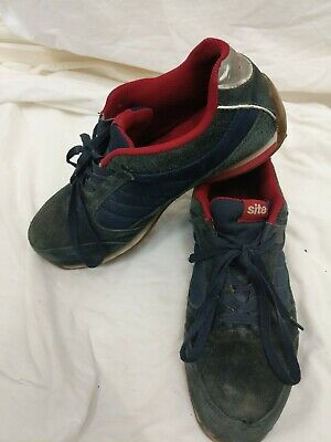 SITE STRATA SAFETY TRAINERS NAVY Mens Size 9 #94