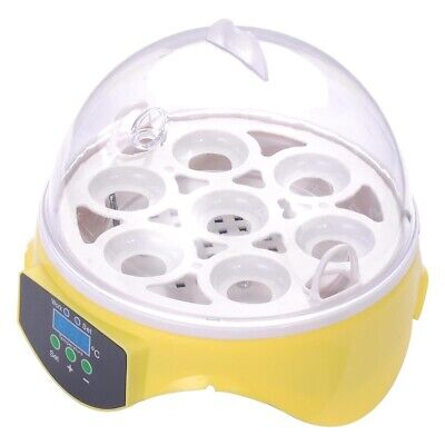 7 Eggs Incubator Automatic Turning Digital LED Fully Chicken Duck Egg Poultry