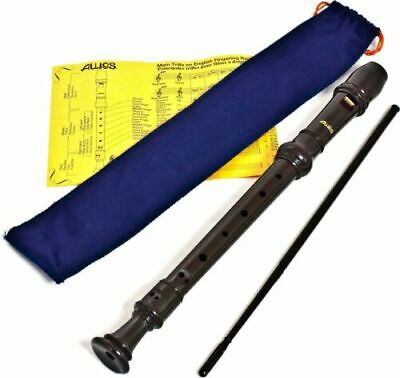 Aulos 303A Descant (Soprano) Recorder (Blue bag)