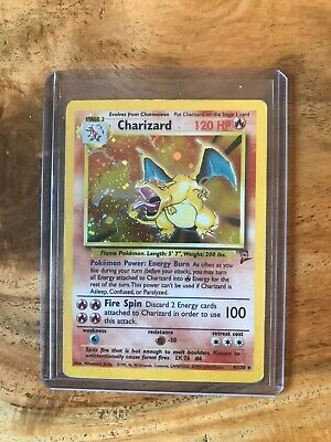 charizard pokemon card 2nd edition