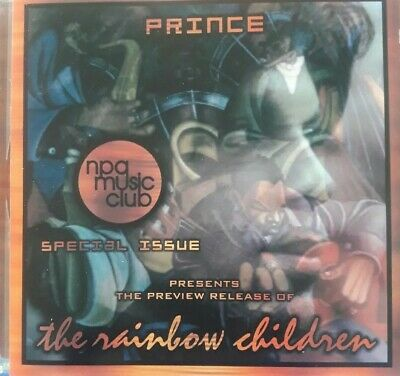 Prince The Rainbow Children NPG Music Club Special Issue Preview Release