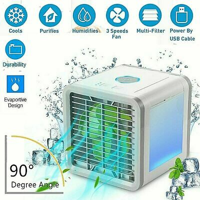 Artic Air Cooler Portable mini Air Conditioner Humidifier Purifier Cooler Fan