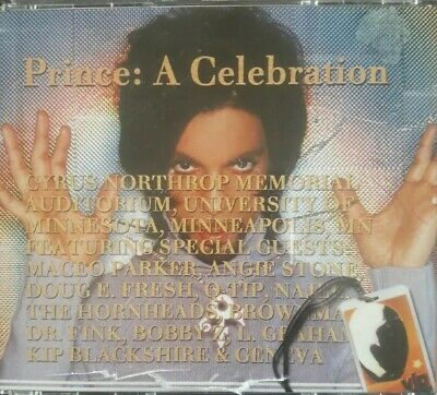 Prince: A Celebration June 2000 Triple Cd With Booklet