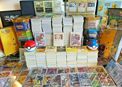 30x Pokemon Cards Bundle! Joblot Including 4 Rares & Holos - 100% Genuine Cards