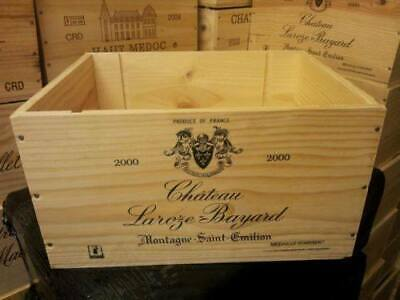 French Wooden Wine Box / Crate - 6 Bottle Size