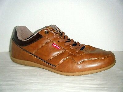 220f9bc6 MENS LEVIS CASUAL COMFORT SNEAKERS GRAY LEATHER -Size 12 - $12.00 ...