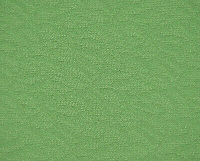 """MCM MOD NEON LIME GREEN Textured Polyester Double Knit Vtg Fabric 66"""" x 1 1/3 Yd"""