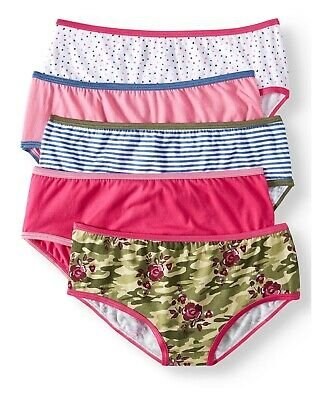 Wonder Nation Girls Size 14 Hipster 5 Pack.. NEW!!!