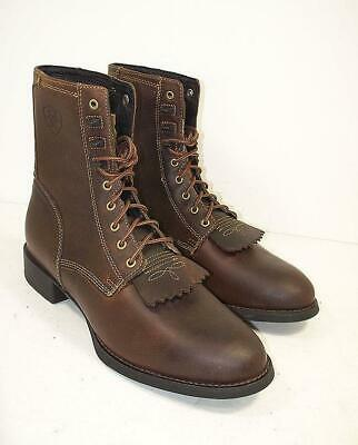 e962640219f REDHEAD STYLE #5231224 Brown Leather 8'' KILTIE Work Boots - Men's ...