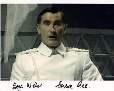 Doctor Who Autograph: EDWARD PEEL (Dragonfire) Signed Photo