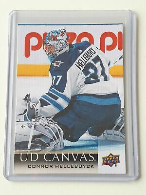 C209 Connor Hellebuyck - Canvas - UD 2018-19 Series 2 Two - Upper Deck
